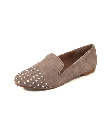 Add interest to your look (without slipping into heels) with these Steven Melter Studded Toe Flats ($70, originally $139).