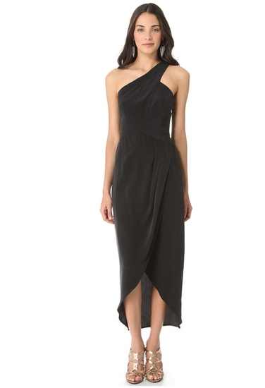 Don't yet have your NYE dress? This Zimmermann One Shoulder Maxi ($333, originally $475) should do the trick for any New Year's occasion and long after that too.