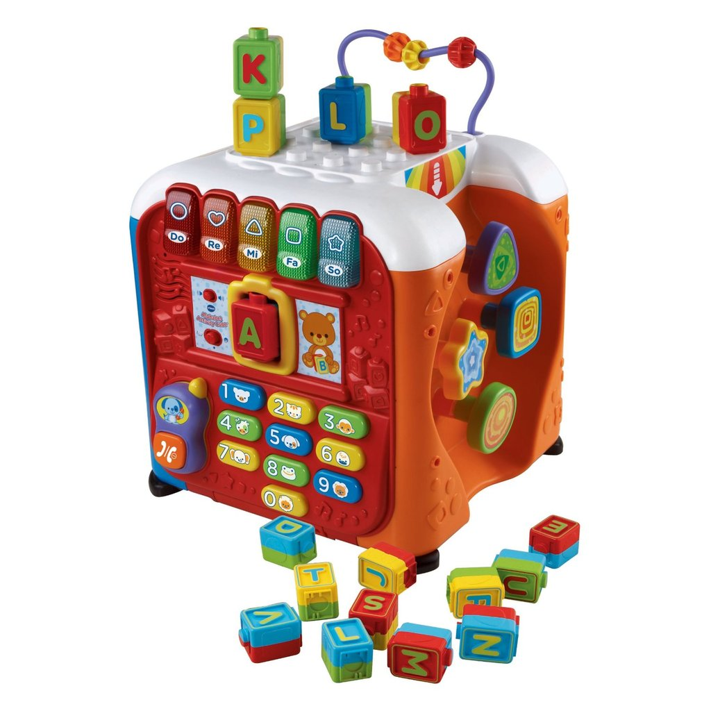 Best Baby Toy: VTech Alphabet Activity Cube