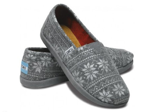 TOMS Snowflake Shoes