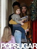 Orlando Bloom, Miranda Kerr, and Flynn Bloom spent the holidays together.