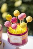Lemon Cake Pops