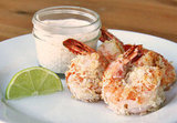 Appetizers: Baked Coconut Shrimp