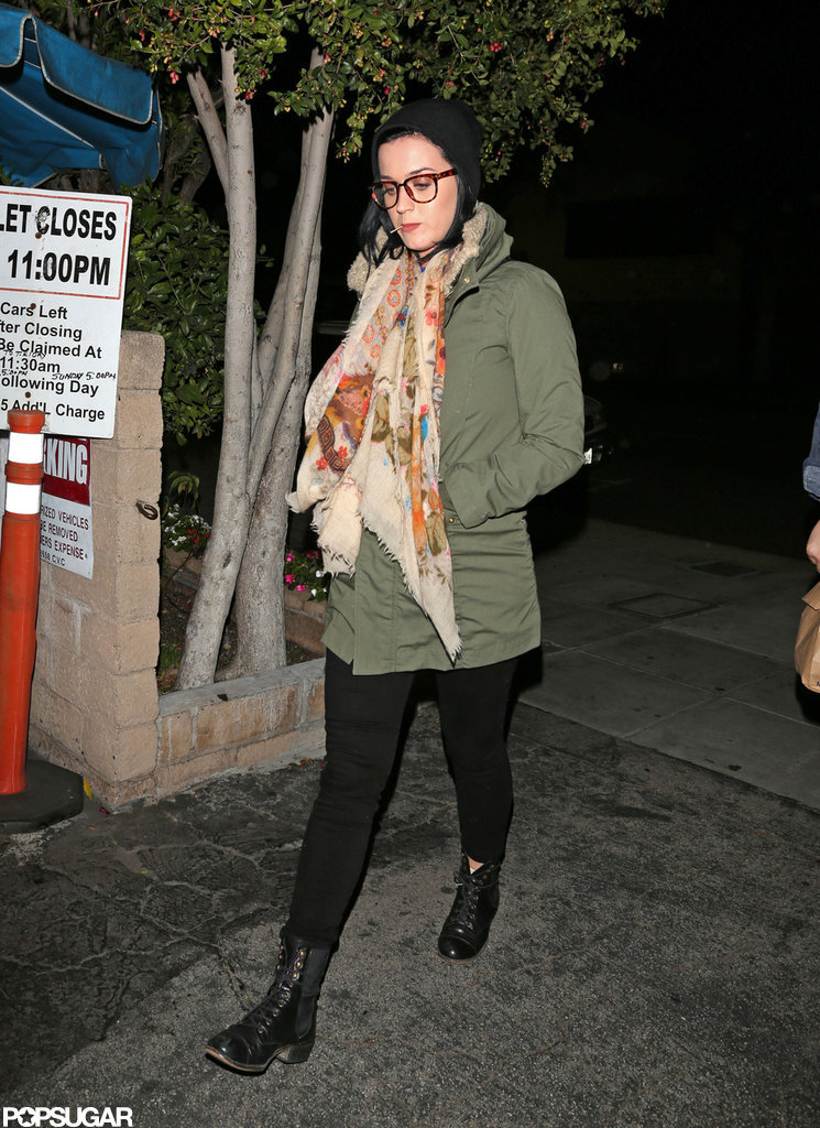 Katy and John Have a Dinner Date Following Their Family Christmas