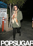 Katy Perry headed home from dinner with John Mayer.