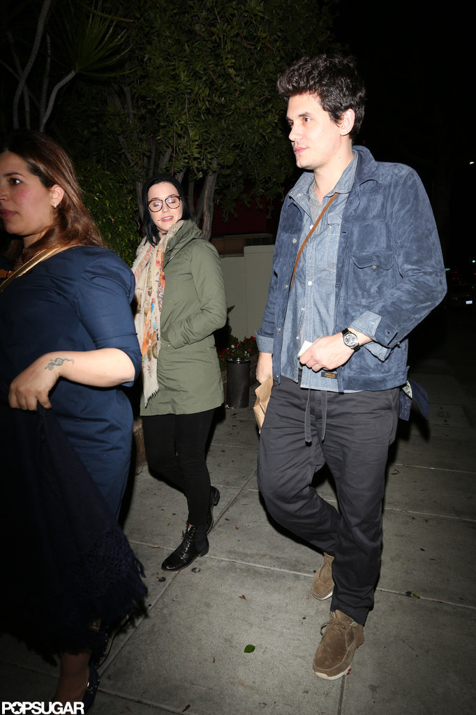 Katy Perry and John Mayer had dinner at Matsuhisa.