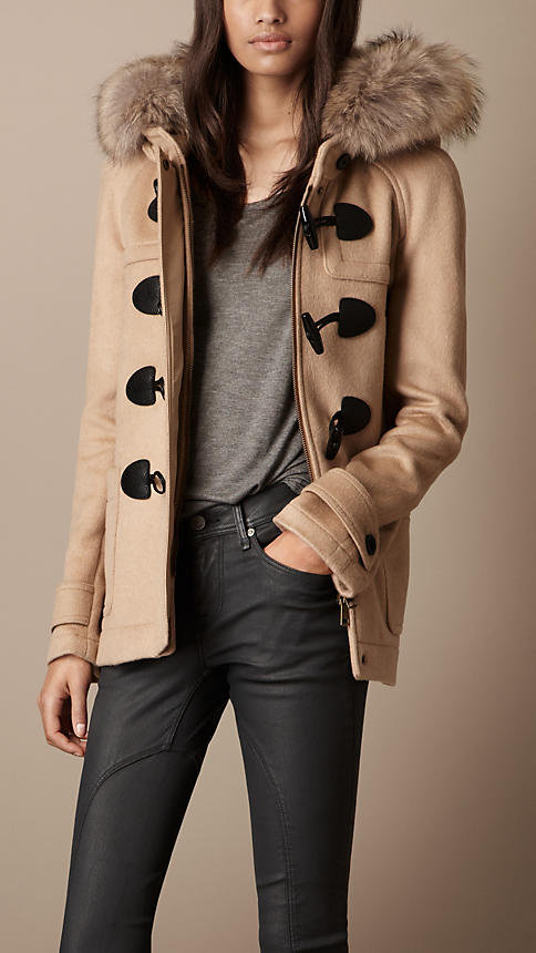 It's January, which means that we're not out of the woods as far as chilly weather goes. I'm counting on  Burberry's Fur-Trim Hooded Duffle Coat ($1,295) to keep me cozy and chic at the same time. — BS