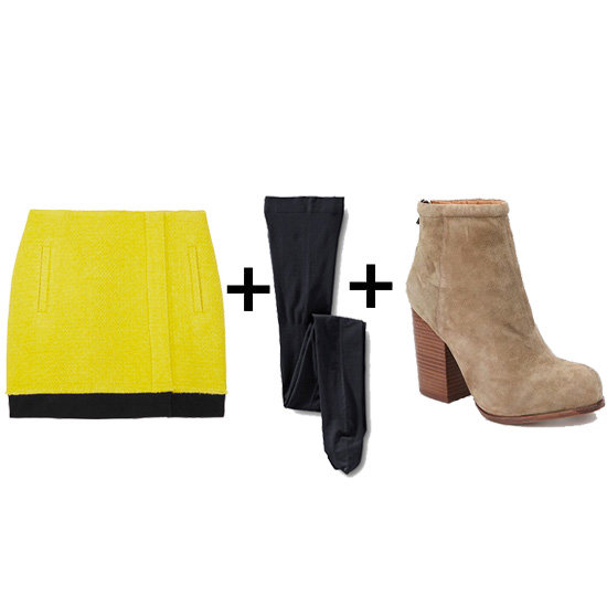 Winterize It: 5 Miniskirt + Tights + Boot Combos to Try Now