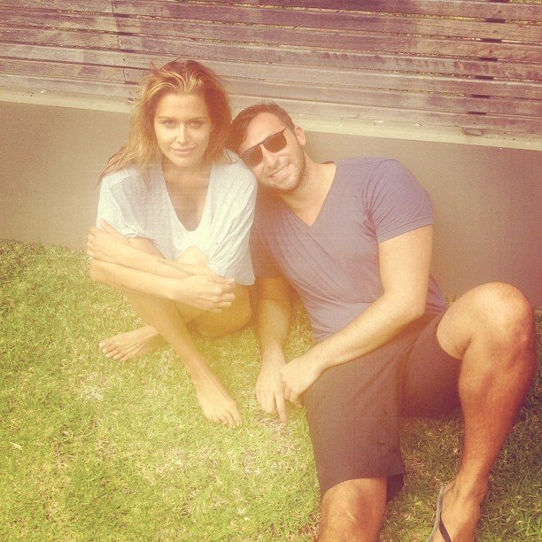 Cheyenne Tozzi hung out with Ian Thorpe. Source: Instagram user cheyennet