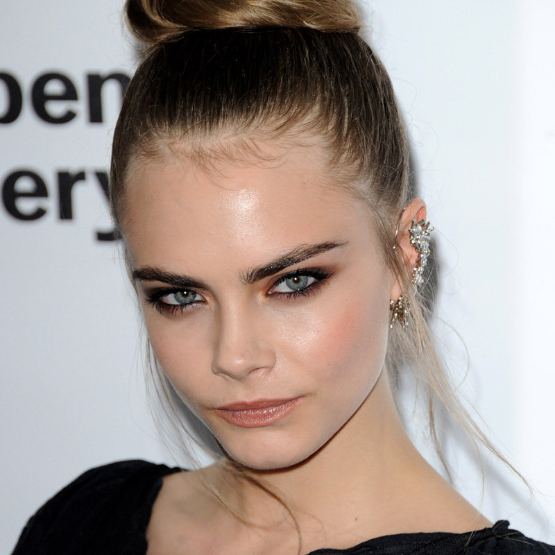 Cara Delevingne's Brown Smoky Eye