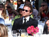 Bradley Cooper watched David O. Russell's speech.