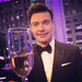 Ryan Seacrest toasted 2013 with Champagne and black tie. 
