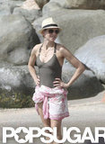 Naomi Watts relaxed in St. Barts.