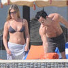 Jennifer Aniston Kissing Justin Theroux in Mexico