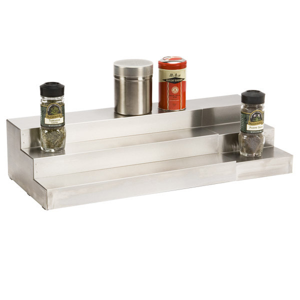 Graduated Spice Shelf
