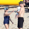Reese Witherspoon on the Beach in Hawaii With Family