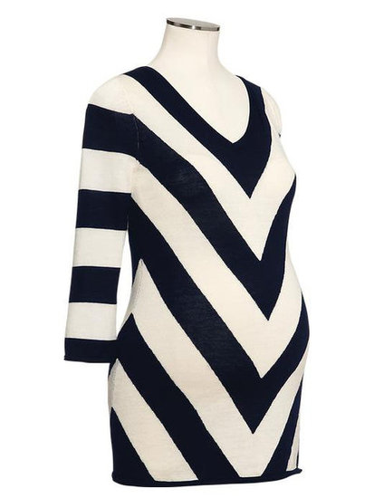 Gap Intarsia Chevron Sweater