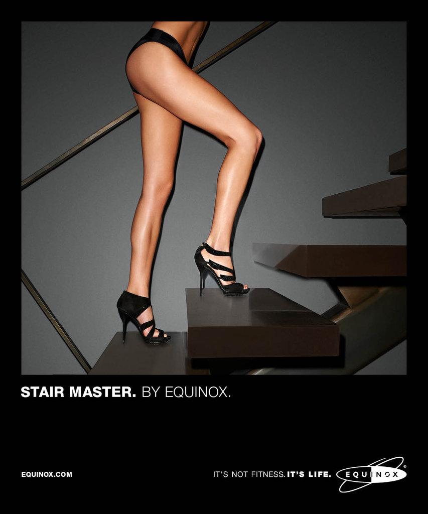 Do you like Equinox's latest ad campaign?