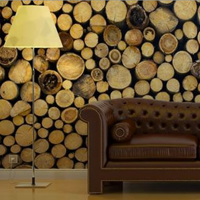 Wooden Logs Wall Art