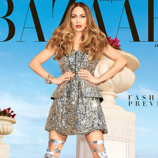 Jennifer Lopez in Harper's Bazaar February 2013