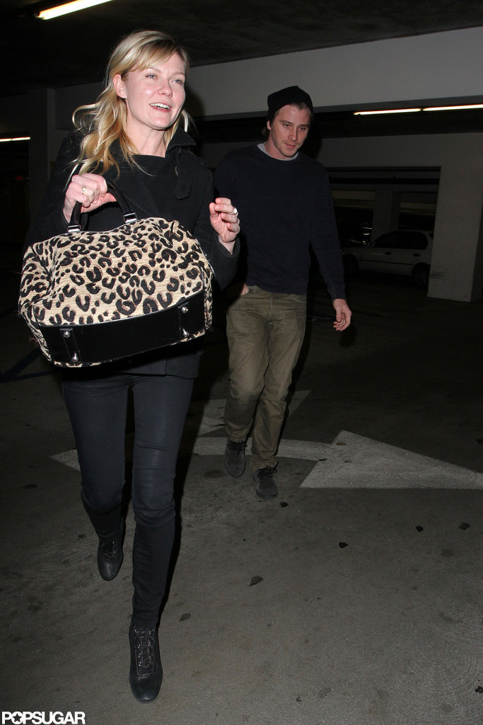 Kirsten Dunst and boyfriend Garrett Hedlund went out to the movies together.