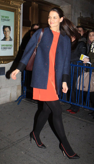 Katie Holmes Is Bright and Happy After Rocky Start to 2013