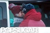 Jason Statham and Rosie Huntington-Whiteley Show PDA on the Slopes