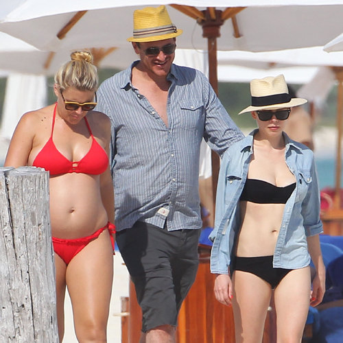 Michelle Williams in a Bikini With Jason Segel | Pictures
