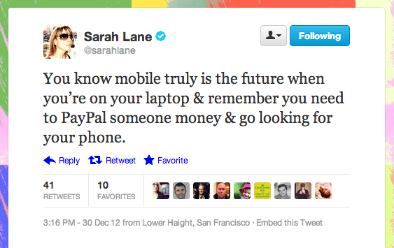 We're right with Tech News Today host Sarah Lane in that multidevice mobile world.