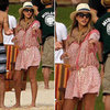 Jessica Alba's Vacation Style | January 2013
