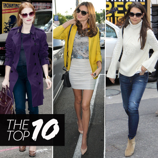 moving celebrity new top 10 styles celebrity 2013