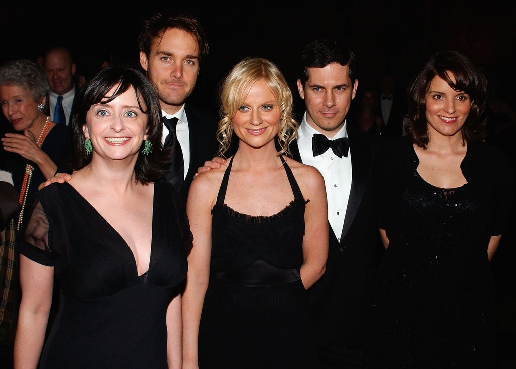 The pair joined SNL castmates Rachel Dratch, Will Forte and Chris Parnell for a photo at a gala in November 2005.