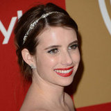 Emma Roberts | Golden Globes Hair 2013