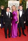 Michael J. Fox, Tracy Pollan, and Sam Fox