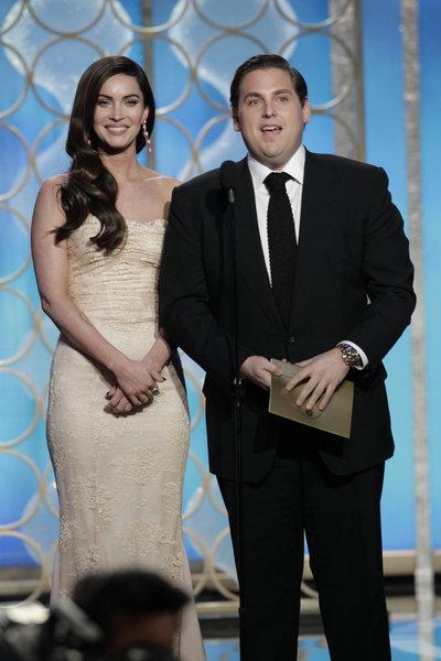 Megan Fox and Jonah Hill