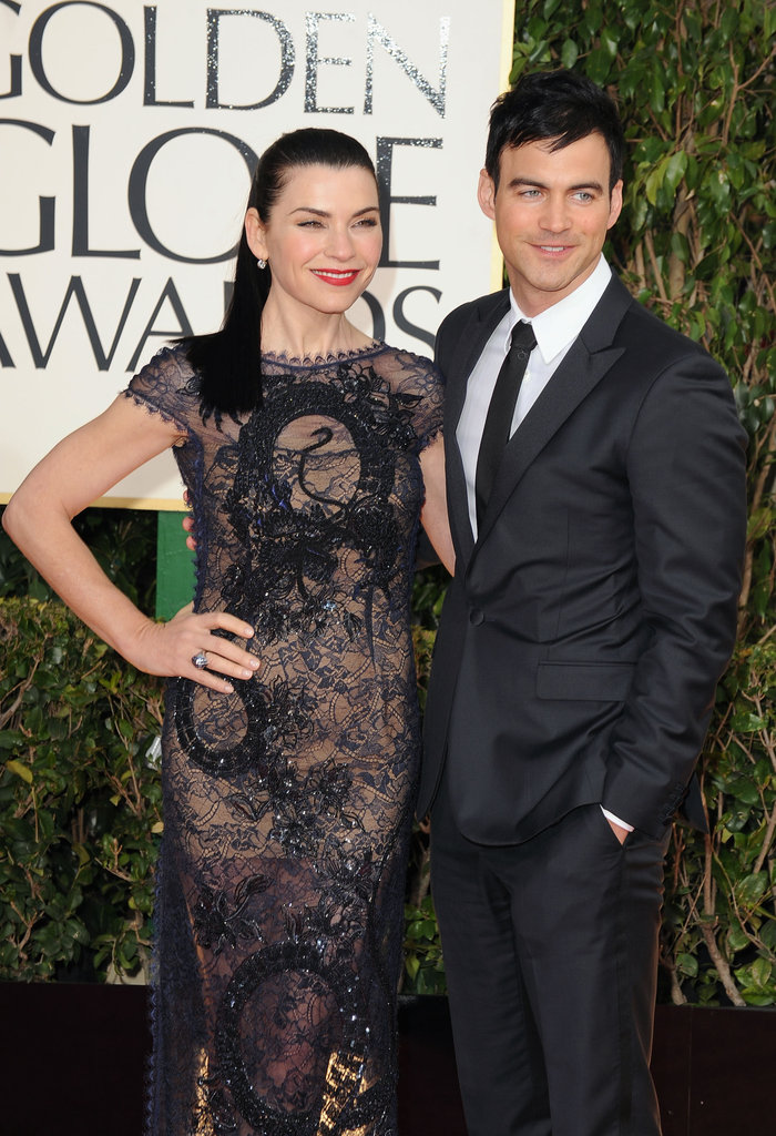 The stunning Julianna Margulies wore a backless Pucci gown.