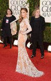 Jennifer Lopez sassed up the 2013 Golden Globes carpet.