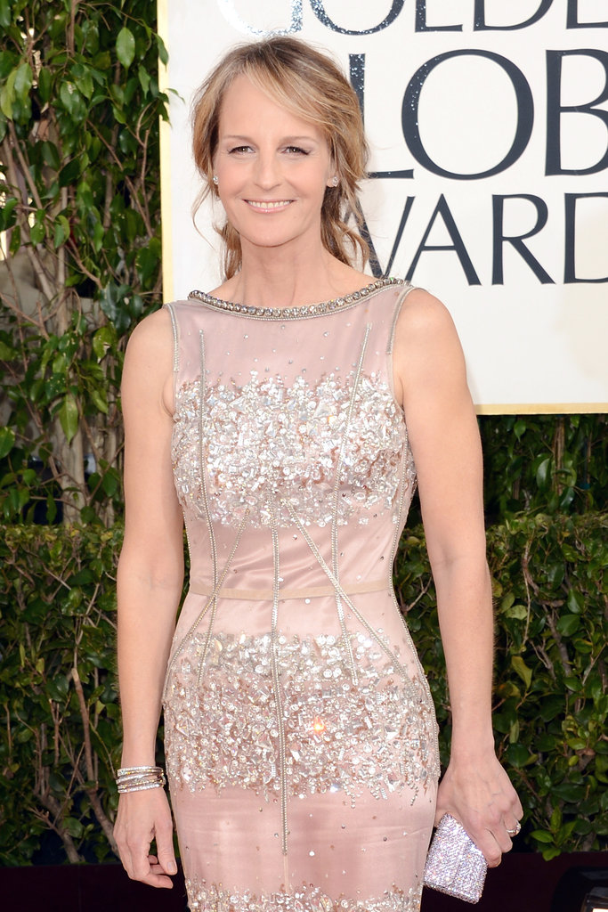 Makena's mama, Helen Hunt, glowed as she worked her way down the red carpet.