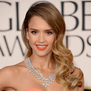 Jessica Alba at the Golden Globes 2013 | Pictures