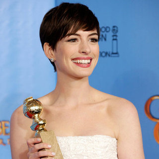 Anne Hathaway Golden Globe Awards Winning Quotes