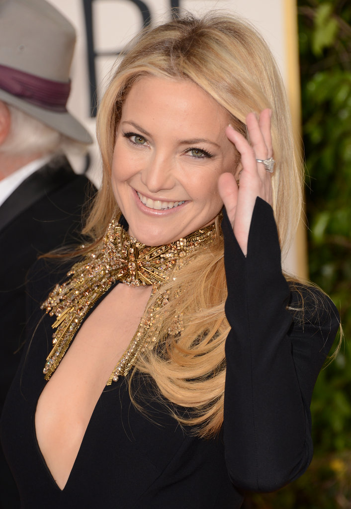 Kate Hudson posed at the 2013 Golden Globes.