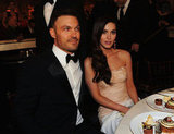 Megan Fox and Austin Green posed together at the Golden Globe Awards.