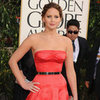 Jennifer Lawrence Pictures in Dior at 2013 Golden Globes