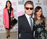 Salma, Rashida, and Jeremy Get Into the Award-Season Spirit