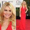 Claire Danes | Golden Globes Red Carpet Fashion 2013