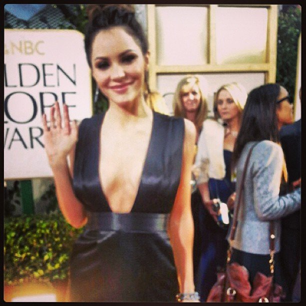Katharine McPhee Shows It Off