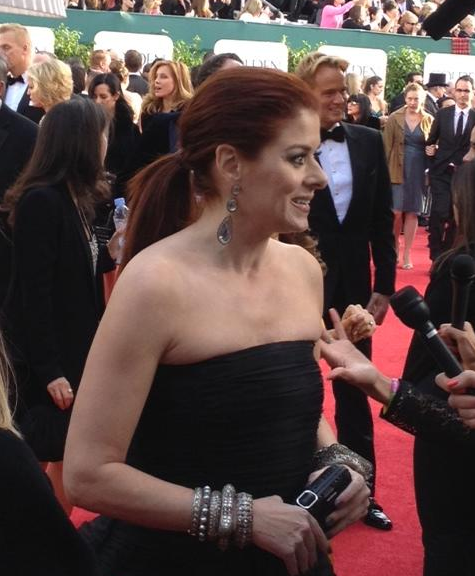 Debra Messing Shows Off Major Jewels