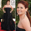 Debra Messing | Golden Globes Red Carpet Fashion 2013