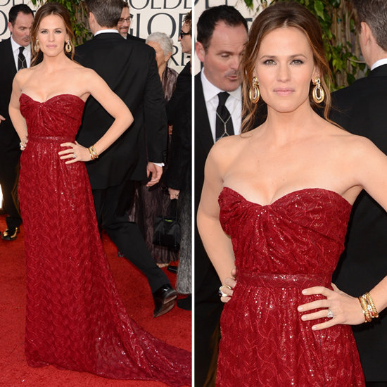 Jennifer Garner | Golden Globes Red Carpet Fashion 2013