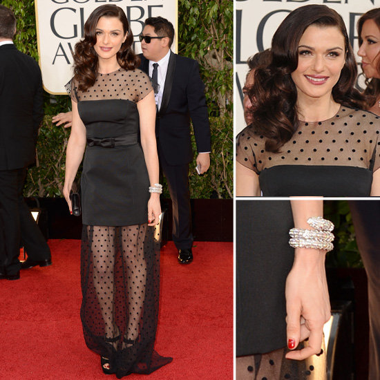 Rachel Weisz | Golden Globes Red Carpet Fashion 2013